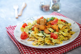 Chicken and spinach pasta with ricotta - 243691890