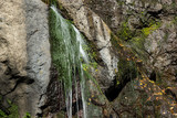 Autumn view of Samodivsko praskalo waterfall, Rhodope Mountains, Bulgaria - 243704620
