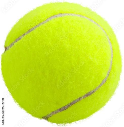 Leinwandbild Motiv Tennis Ball - Isolated
