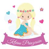 Kleine Prinzessin Karten Motiv - 243725653