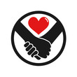 hands in love icon