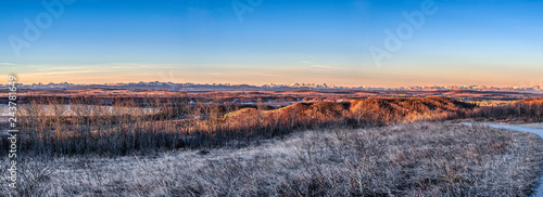 Southern Alberta Landscapes in the morning sun - 243781649