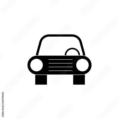 Fridge magnet Car sign simple icon