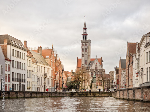 Sticker Late Afternoon - Bruges