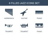 6 jazz icons