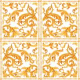 Golden baroque rich luxury vector pattern - 243805404