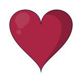 Heart romantic cartoon - 243842075
