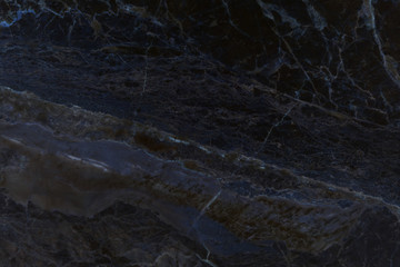 Black marble natural pattern for background, abstract black and white © jamroenjaiman