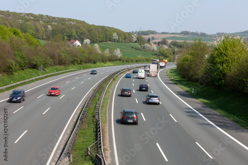 Deutsche Autobahn - 243862269
