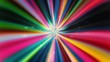 Fast-Moving Multicolored Tunnel. Seamlessly looping animated background.