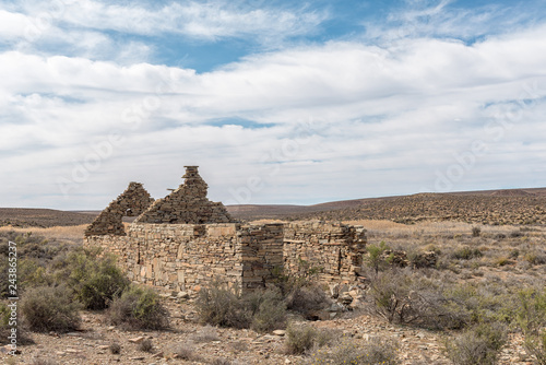 Ruin near Middelpos in the Northern Cape Province
