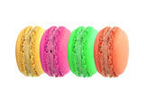 macaroons variety isolated - 243865635