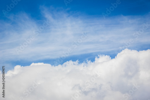 beautiful sky clouds nature background - 243869671