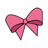 cute bowntie isolated icon - 243880089