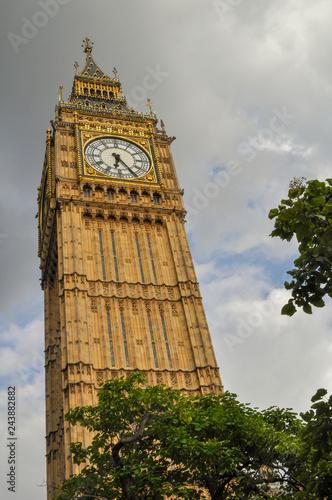 mata magnetyczna Londra - Big Ben - Torre dell'orologio - Westminster