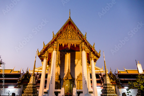Wall mural Beautiful photo of Wat Pho Temple, Bangkok City taken in thailand