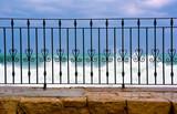 Fototapeta Fototapeta z niebem - the rough sea at marzamemi Sicily Italy © maudanros