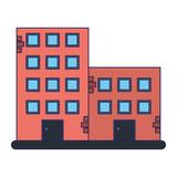 Urban buildings estate - 243906037