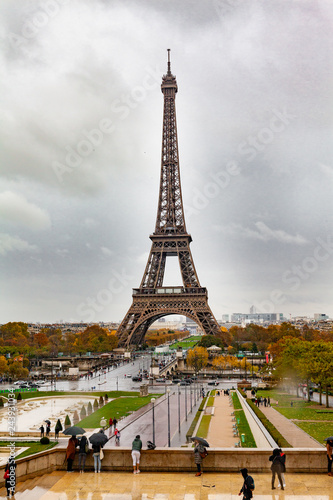Wall mural Europe, France, Paris , tower Eiffel