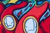 Fototapeta Fototapety dla młodzieży - Graffiti Textur © lexpixelart