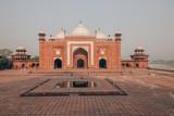 Mosque near the Taj Mahal in Agra, India