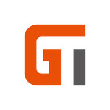 letter G and T vector logo