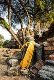 Beautiful photo of Ayutthaya taken in thailand