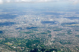 Fototapeta Londyn - South East London Vista, aerial view © BasPhoto