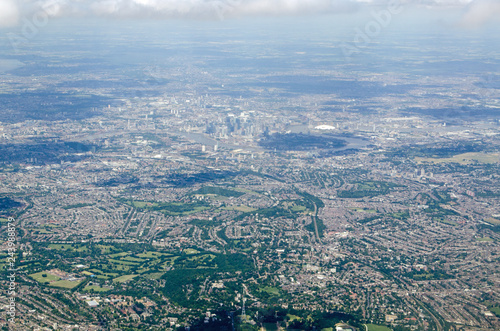 South East London Vista, aerial view