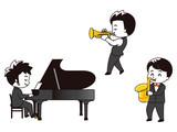 ピアニスト トランペット奏者 サックス奏者