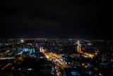 Warsaw view at might