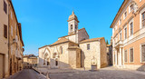 SAN QUIRICO D ORCIA Ancient town in Siena region in Tuscany