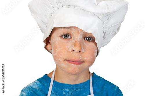 Sticker Littlle funny baker