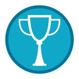 champion trophy cartoon - 244124099