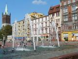 Fototapeta City - POLSKA  Górny Śląsk  Bytom  Rynek  Fontanna © JAN