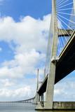 Fototapeta Fototapety pomosty - bridge, in Lisbon Capital City of Portugal © underworld