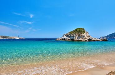 Beautiful beach landscape, Sithonia, Greece © haveseen