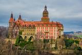 Castle in spring - 244177610