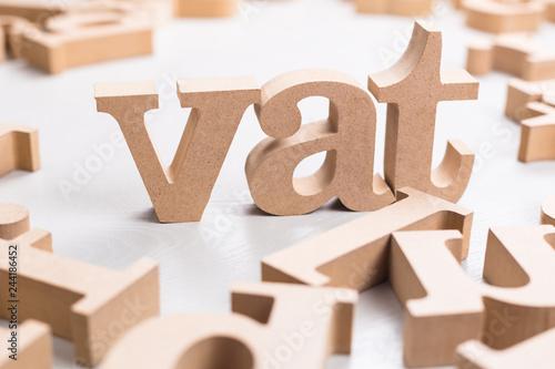 Vat Word on Table © patpitchaya