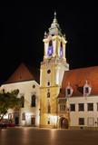 Old townhouse on Main square (Hlavne namestie) in Bratislava. Slovakia