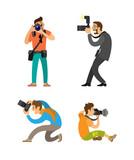Photographing People Set, Photographer Paparazzi