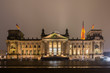 Reichstag in the night