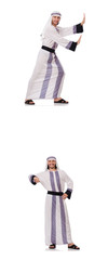 Male arab isolated on white background   © Elnur