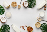 Organic vegan food concept. - 244327806