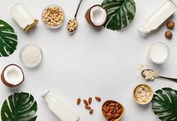 Organic vegan food concept.
