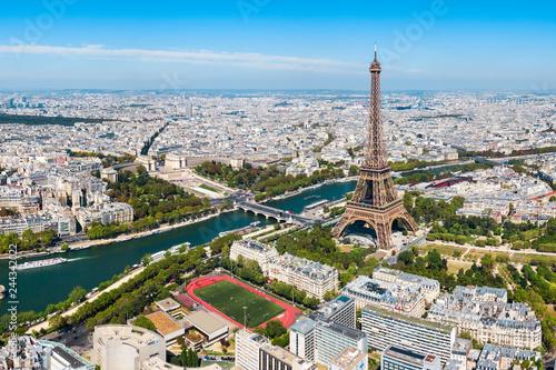 Paris aerial panoramic view, France - 244342022