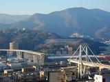 Fototapeta Fototapety pomosty - Genova - il ponte dopo il crollo © provenza