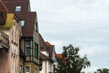 Sopot, Poland: Buildings along main street (Monciak) in resort - 244412615