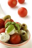 Insalata caprese Cucina italiana Italian cuisine Italienische Küche la 義大利飲食 Итальянская кухня Kuchnia włoska