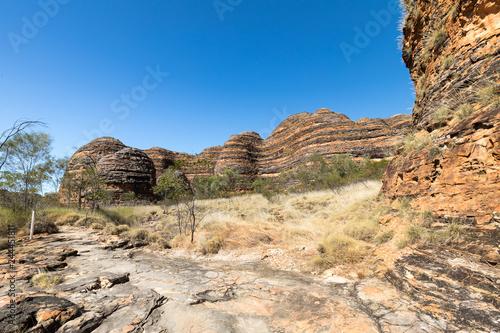 Bungle Bungle Range in the Purnululu National Park, Kimberley, Western Australia, Australian outback